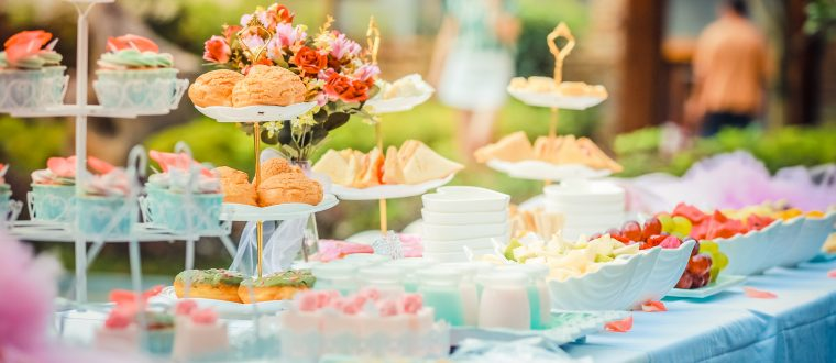 דוכני מזון למסיבת רווקות